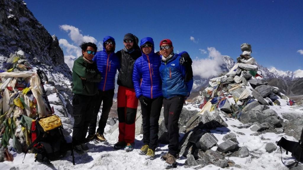 14 abril   Cho La Pass y Dzongla