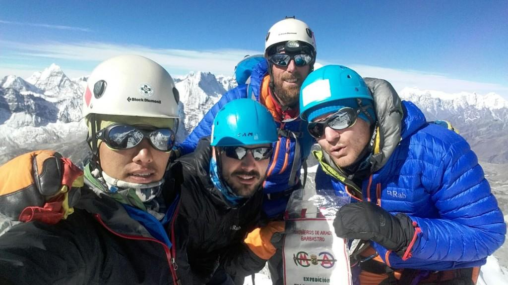 17 y 18 abril   Alcanzamos la cumbre del Island Peak