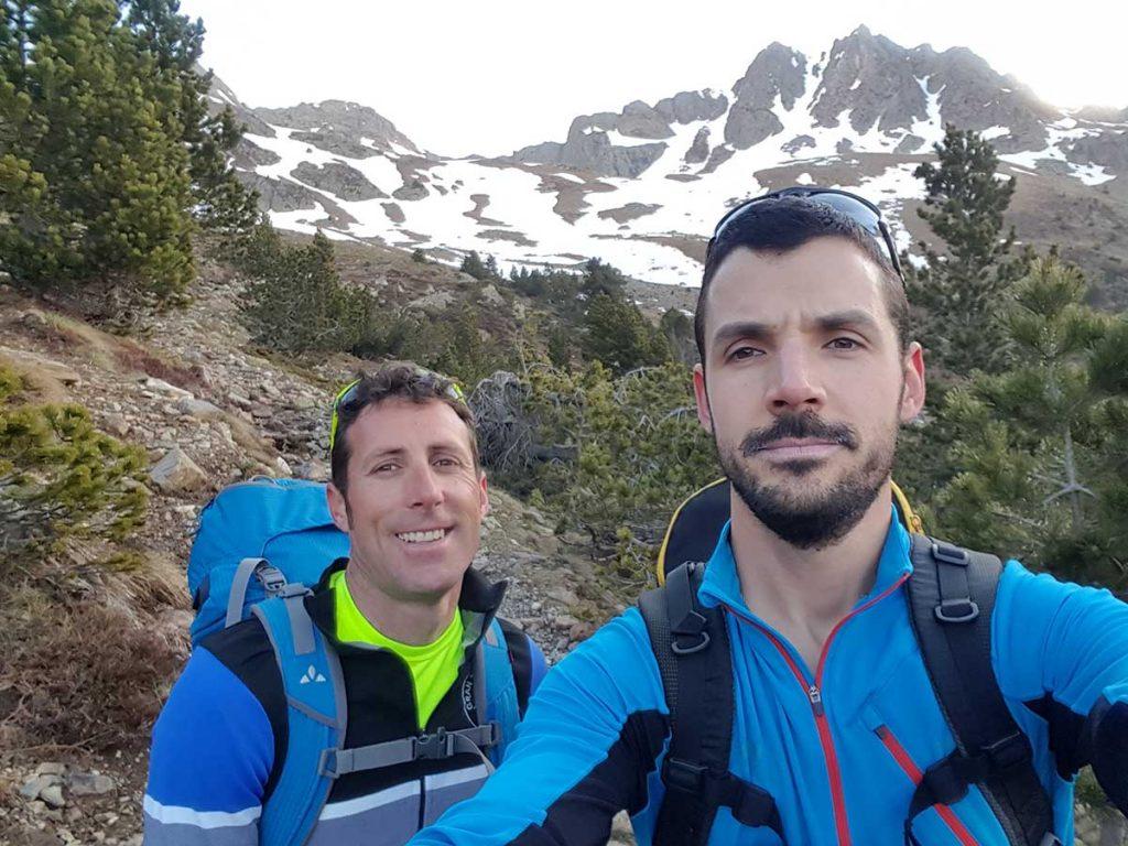 Pico de la Montañeta 2562 m. (CORREDOR SUR 300 Mts 45º - 55º)