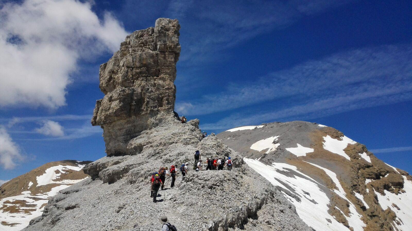 Ascensión al TAILLÓN (3146m.) - Brecha de Rolando (Desde Bujaruelo)