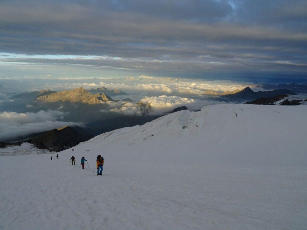 CORNO NERO (4.322 mts.) y LUDWIGSHÖHE (4.342 mts.)