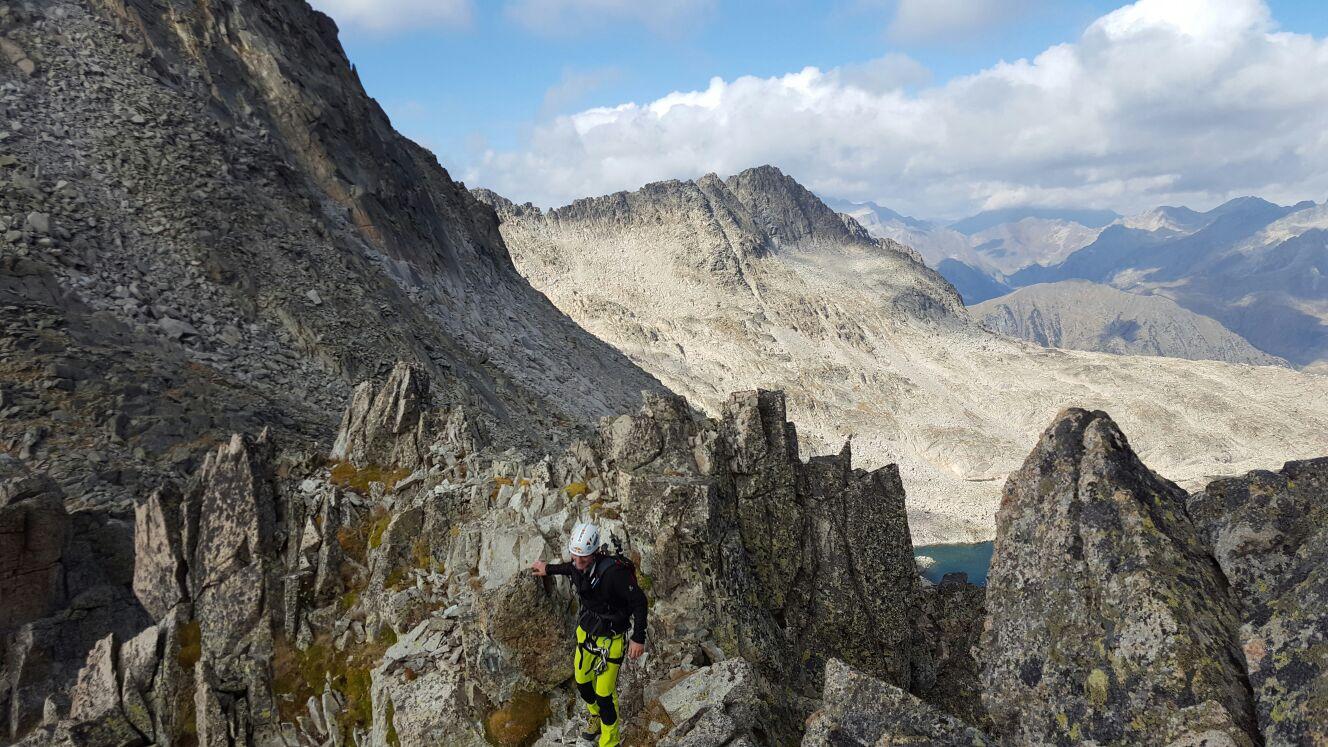 Pico Aragüells y Aguja Juncadella