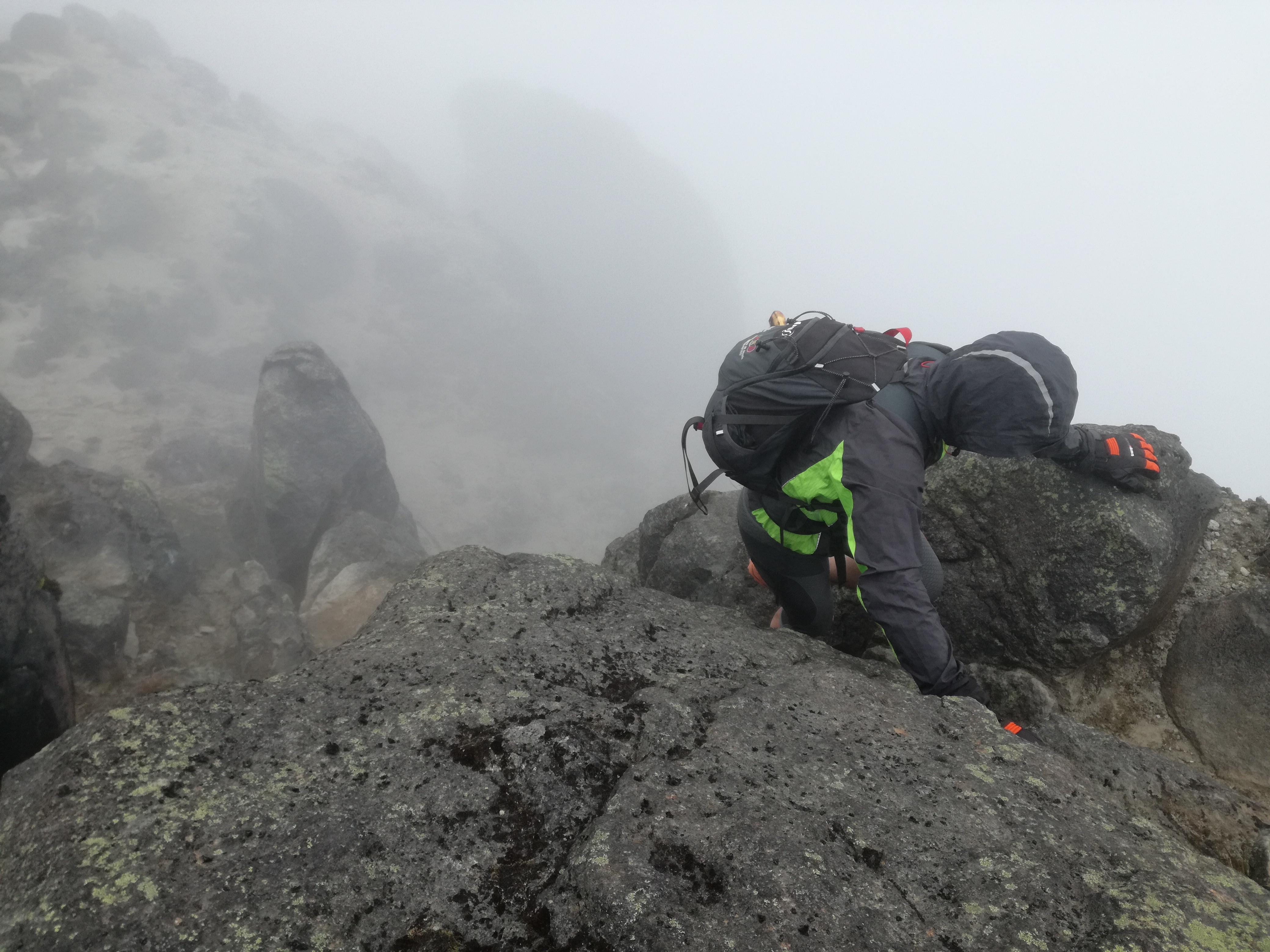 Empezamos la aclimatación seria!! Frío y olor a azufre. Guagua Pichincha 4800 mts.