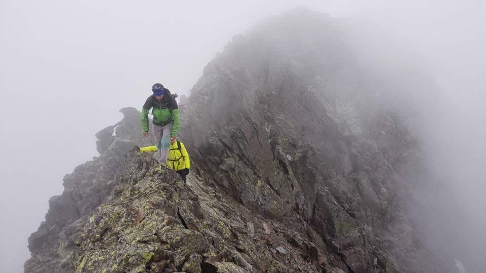 PUNTA DEL SABRE (3.136 m) - GRAN BACHIMALA (3.177 m). CRESTA PUNTA DEL SABRE - GRAN BACHIMALA (PD/650 m/II máx)