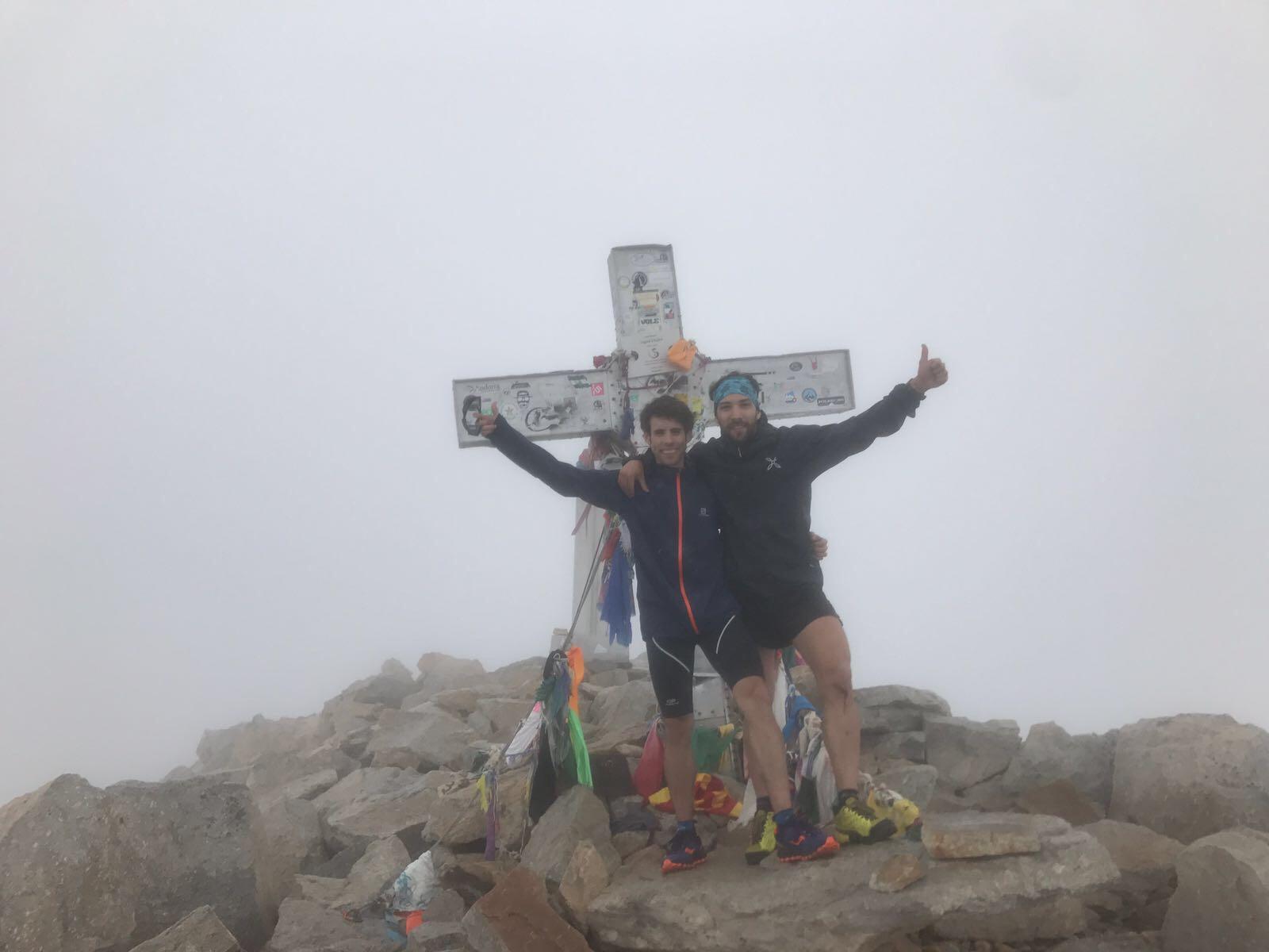 Benasque (pueblo)- cima del Aneto. 41 km y 3040 mts. de desnivel positivo.