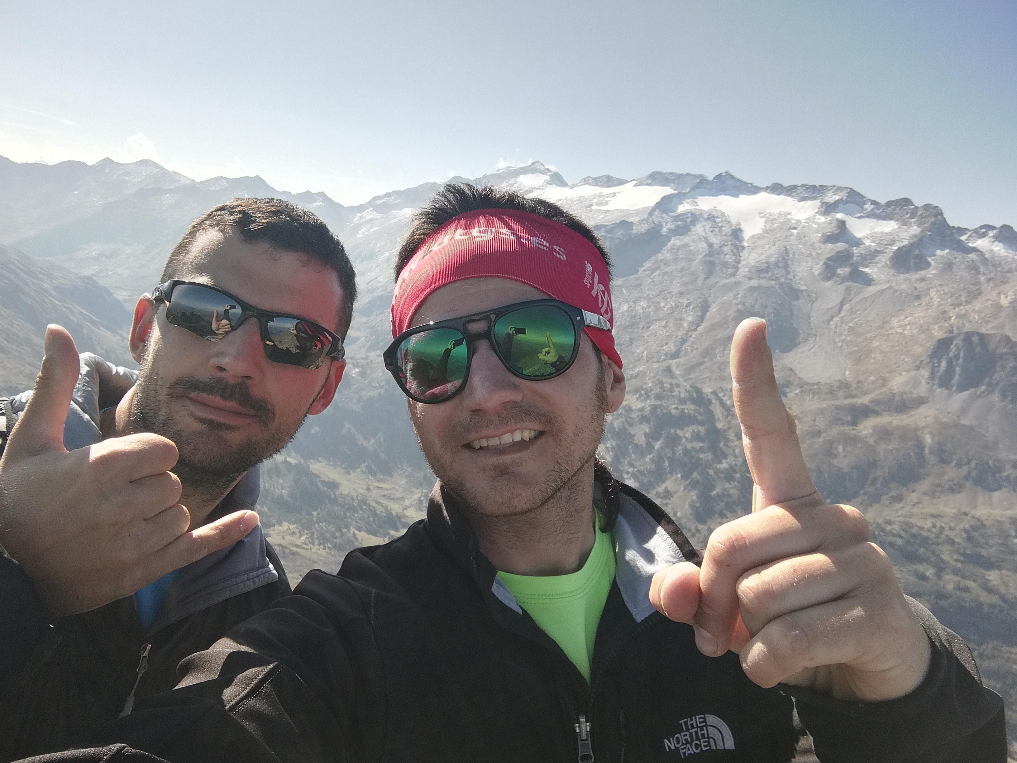 Pico de La Mina (2708 mts.) Desde el Hospital de Benasque