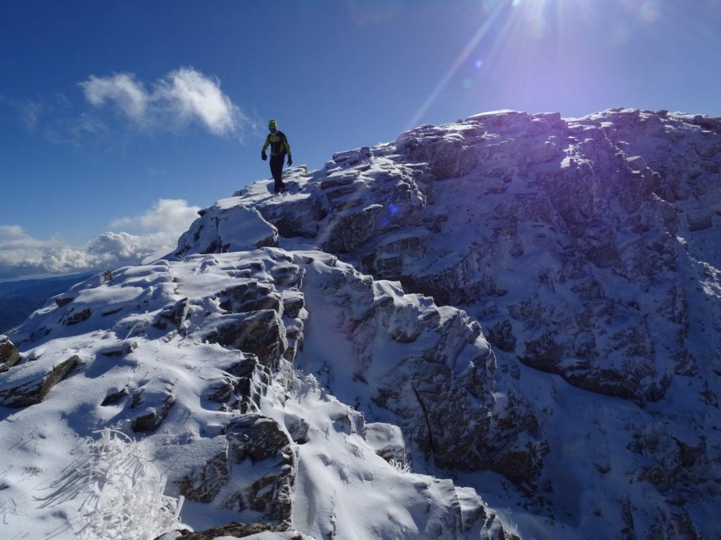 Cresta de Barbarisa 2729 mts. cota máxima. (Pasos III, opcional)