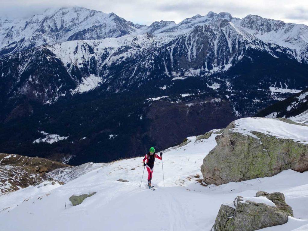 Ascensión con esquís a Punta Suelza (2.972 m)